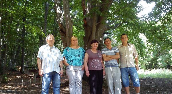 Группа на Ангарском перевале перед работой