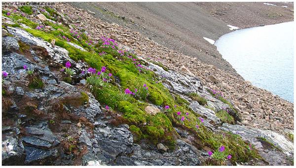 Ангарский перевал, озеро