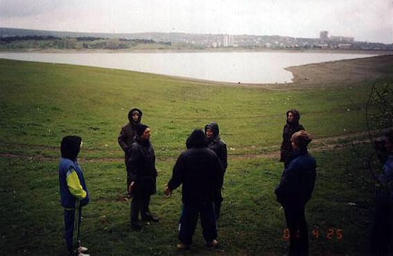 Работа на симферопольском водохранилище