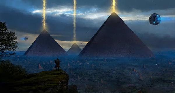 pyramidy-luchi-chelovek